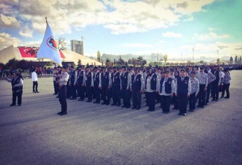 29 Ekim'de Resmi Törene Katıldık.